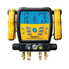 Fieldpiece Digital Manifold Wireless Data Logging