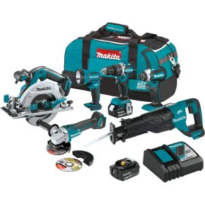Makita 18v brushless cordless combo kit