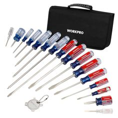 WORKPRO 17-Piece Screwdriver Set